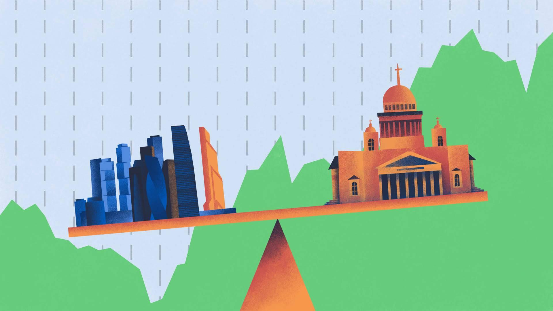 Московская и Санкт-Петербургская биржи: как устроены и в чем разница