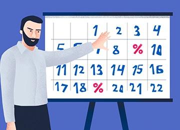 Календарь корпоративных событий: 3-й квартал 2021 года