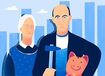 Как накопить на пенсию на фондовом рынке